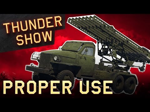 Thunder Show: Proper use
