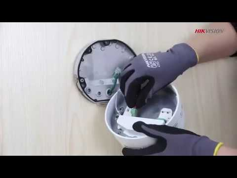 How to Install a Hikvision Varifocal IP Dome Camera