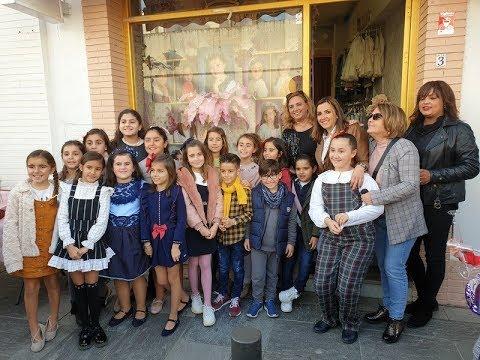 Inauguración del Escaparate dedicado a la Corte Infantil, Carnaval de Isla Cristina 2020