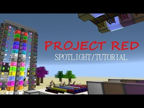 Minecraft Spotlight: PROJECT RED (1.6.4) -= Mod Showcase & Tutorial =-