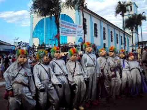Mascarados de João Sorrisão em Palmeiras de Goiás nas Cavalhadas 2011