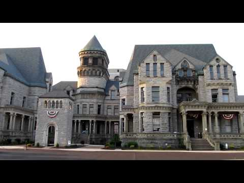 The Ohio State Reformatory, film location of The Shawshank Redemption