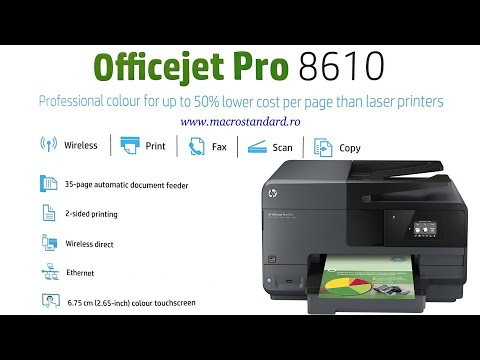 Multifunctionala HP Officejet Pro 8610 e-All-in-One