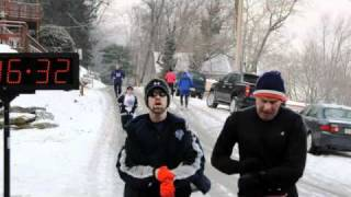 YORK ROAD RUNNERS WINTER SERIES, ACCOMAC 8K 2011, PART TWO