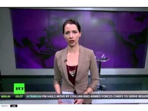 Russia Today Host Criticizes Ukraine Invasion