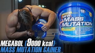 2,2KG MEGABOL - CAŁE WIADRO MASS MUTATION GAINER CHALLENGE (9000KCAL) | [Epic Cheat Meal]