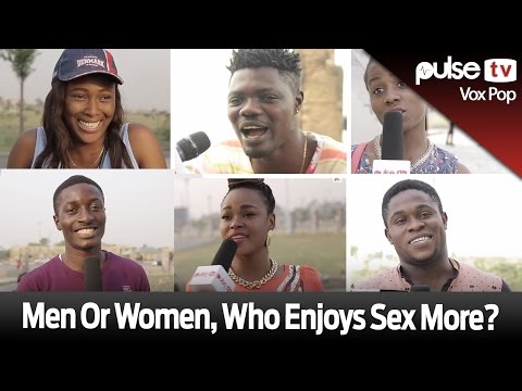 who enjoys sex between male and female
