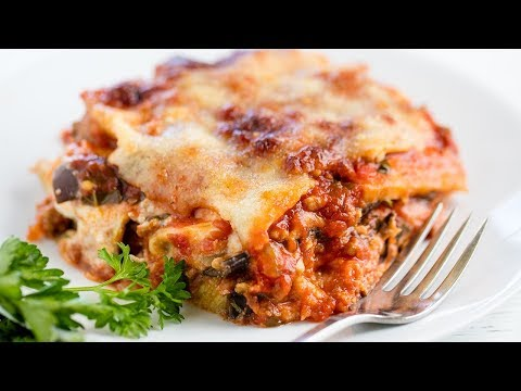 How to Make The Most Amazing Eggplant Lasagna | The Stay At Home Chef