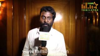 Vijay Vasanth at Sikandi Movie First Look Launch