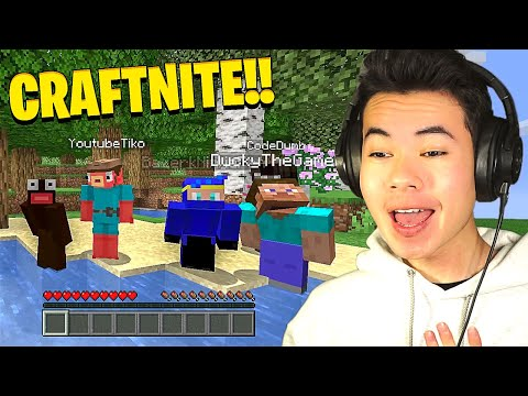 CraftNite Ep.1: A NEW BEGINNING (what am i doing)