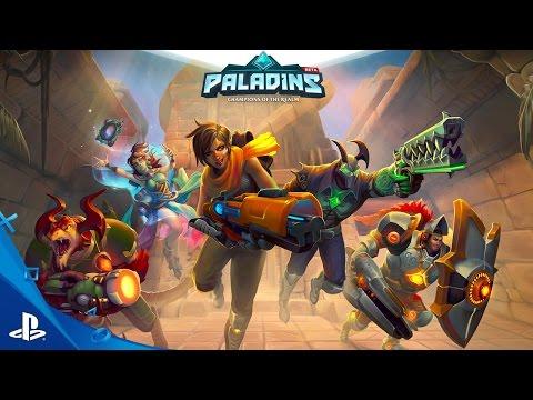 Paladins - Closed Beta Trailer | PS4