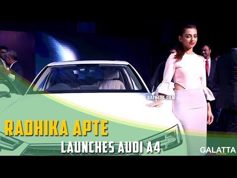 Radhika-Apte-launches-Audi-A4