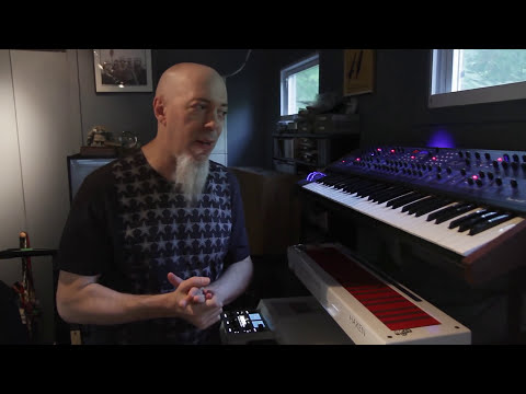 Jordan Rudess - Jordan Rudess, of Dream Theater, gave us a little tour of