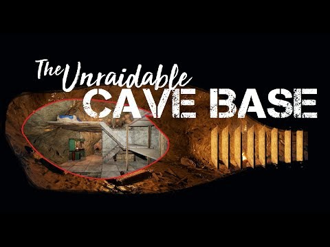 RUST: Unraidable Cave Base