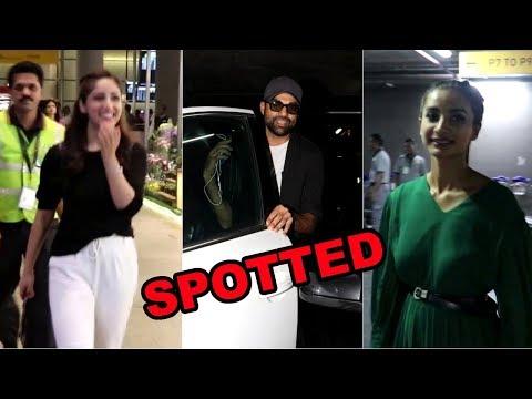 Yami Gautam, Abhay Deol & Patralekha Spotted At Mumbai Airport