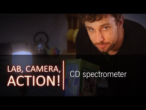 spectrometer - How do we know what the stars are made of when we've never been to one? Dr Andrew Steele shows us how to make a spectrometer, a device used by scientists to ...