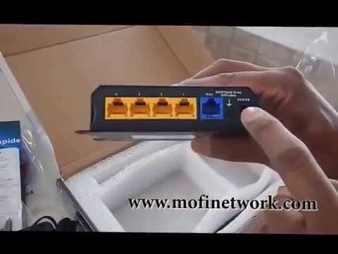MOFI4500-4GXeLTE un-boxing