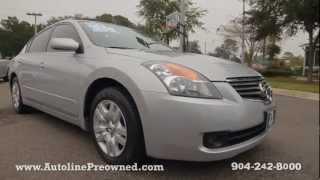 Autoline's 2009 Nissan Altima 2.5 S Walk Around Review Test Drive