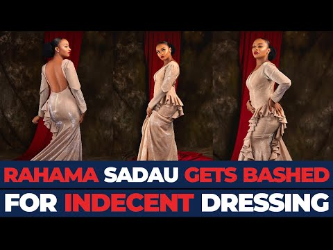 MTV Shuga & Kannywood Star, RAHAMA SADAU Gets Bashed On Arewa Twitter For Rocking Indecent Dress