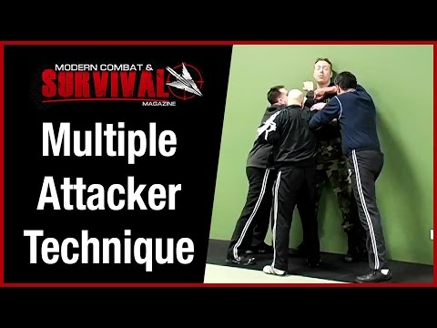 Self Defense Technique Against Multiple Attackers – Cornered