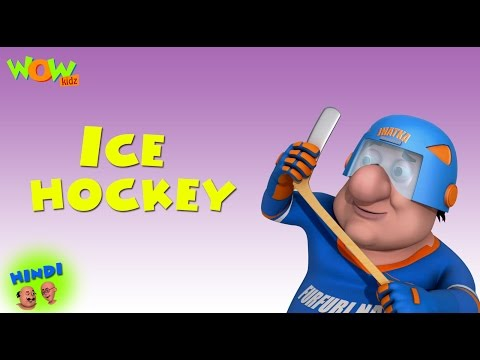 Ice Hockey - Motu Patlu in Hindi WITH ENGLISH, SPANISH & FRENCH SUBTITLES