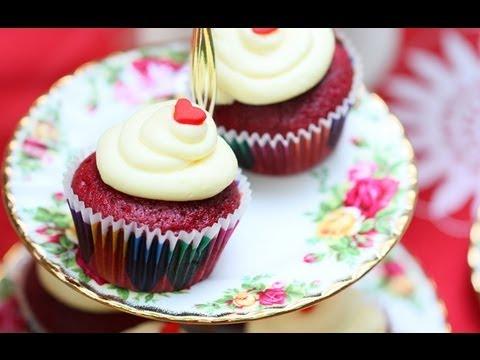 Cara Membuat Red Velvet Cupcake