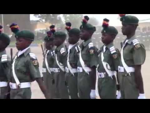 Just look at this wondeful performance by this kids at the Nigerian Military School #Nigerian Army