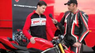 2. 2009 Ducati Streetfighter and Streetfighter S launch