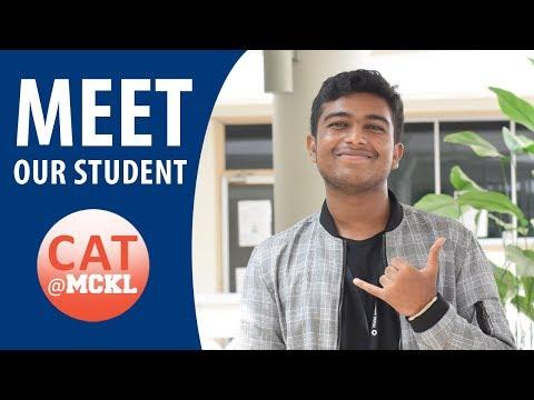 CAT@MCKL | Meet our student, Sai