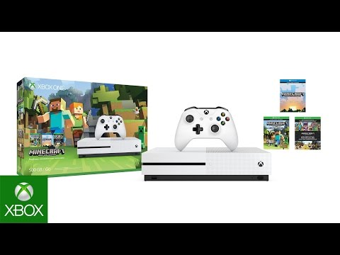 Xbox One Minecraft Favorites Bundle 4K Unboxing