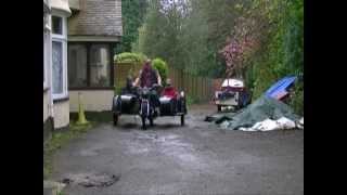 9. funniest ural motorbike with 2 sidecars.wmv