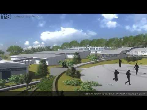 Nuevo Colegio Técnico Profesional de San Isidro Heredia en Costa Rica