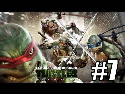 Прохождение Teenage Mutant Ninja Turtles Out of the Shadows Часть 7