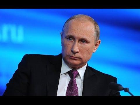 Большая пресс-конференция президента РФ Владимира Путина 17 декабря 2015 (видео)