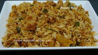 Potato Rice - Lunch Box Recipe