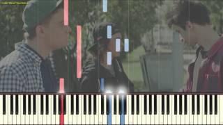 Выпускной (Медлячок) - Баста (Пример игры на пианино) (piano cover)