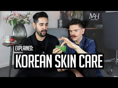 Mens hairstyles - Men's Korean Skin Care Routine  10 Steps Explained!