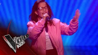 Natasha Performs 'Sorry, Not Sorry': Blinds 1 | The Voice Kids UK 2018