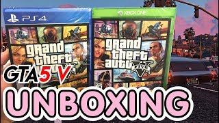 Download Lagu Grand Theft Auto V GTA 5 (PS4 / Xbox One) Unboxing !! Mp3