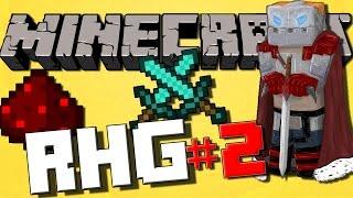 Minecraft Random Hardcore Generator! #2 BATTLING MOBS! (Survival Let's Play)