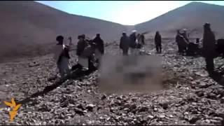 وحشیگری اسلامی: یک دختر 19 ساله در ولایت غور سنگسار شد