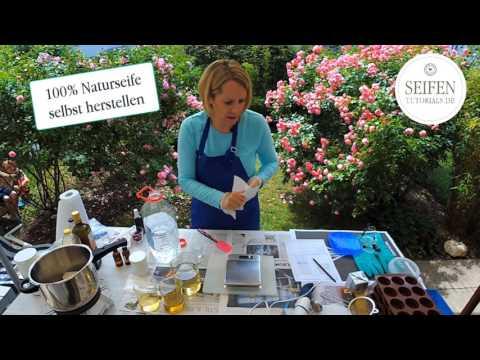 Seife selber machen, Seifen sieden, Grundlagen, Naturseife herstellen [Videoanleitung]