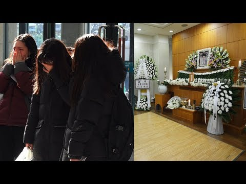 Heart... breaking Ahn Jae Hyun, Oh Yeon Seo ... mourned at Cha In Ha's funeral