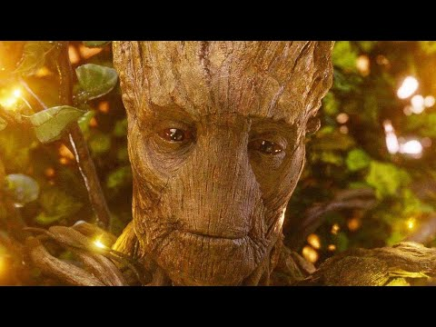 """Groot's Sacrifice  ⁄  """"We Are Groot """" Scene ¦ Guardians of the Galaxy 2014 Movie Clip"""