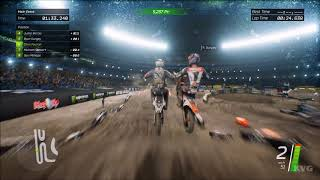 Monster Energy Supercross - Toronto (Rogers Centre) - Gameplay (PC HD) [1080p60FPS]