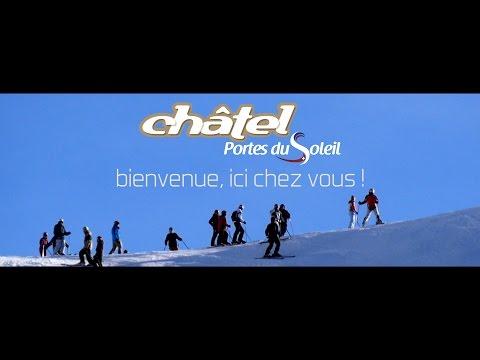 Il fait bon skier à Châtel