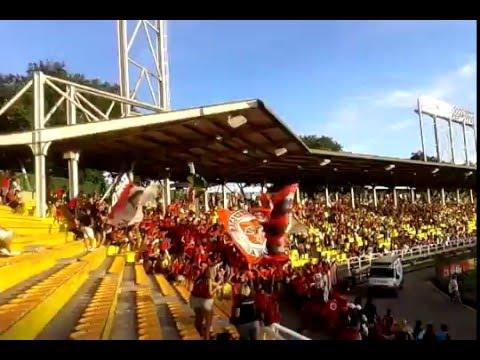 Torcida do Flamengo jogo estádio Raulino de Oliveira em Volta Redonda 05/03/2016