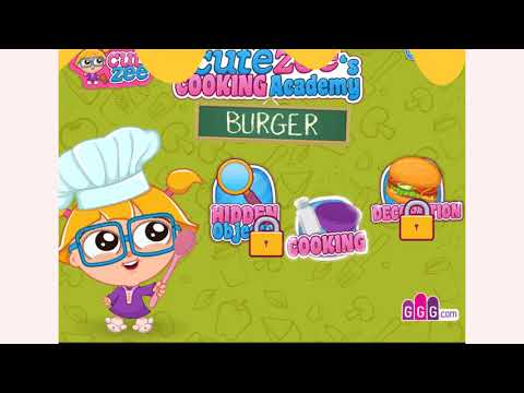 How To Play Cooking Academy Burger Game | Free Online Games | MantiGames.com