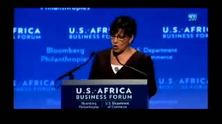 Secretary Penny Pritzker Addresses The U.S.-Africa Business Forum On August 5, 2014