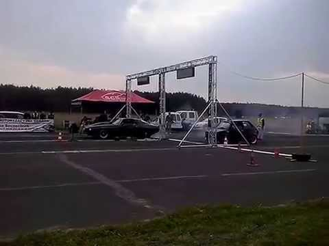Chevrolet Camaro VS Fiat 126p 14.09.2014 [Ultimate 1/4 Grand Prix Polski 2014 WILCZE LASKI]